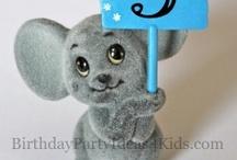 3rd Birthday Party Ideas / 3rd birthday party ideas - Fun ideas for third birthday parties!  / by Birthday Party Ideas 4 Kids
