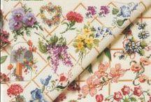Cross Stitch Florals / Cross stitch florals / by Velle Mere Lyons