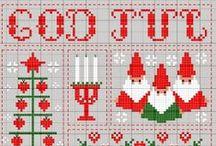 Cross Stitch Christmas / Cross stitch Christmas / by Velle Mere Lyons