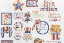 Cross Stitch Military / Military insignia / by Velle Mere Lyons