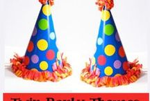 Twin Party Ideas / Great birthday party ideas for twins / by Birthday Party Ideas 4 Kids
