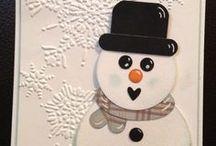 Cards Christmas Snowmen / by Joan Tallent