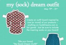 My (Sock) Dream Outfit! / Welcome to our example outfit board! We're so excited about this contest that we've decided to participate (don't worry, we aren't competing) -- just follow our example and build an outfit board around an item from Sock Dreams! Don't be afraid to get creative, or include more than one of our items. All we ask is that you follow Pinterest's terms of service and keep it family friendly.  / by Sock Dreams