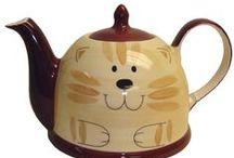 Teapots - Unusual & Cute / by Susie Danubio