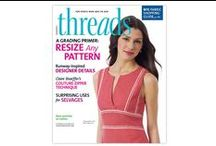 NEW September 2014 Issue #174 / Now on Newsstands! / by Threads Magazine
