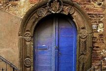 I LOVE old doors and windows! / by Elizabeth Meadows Evans