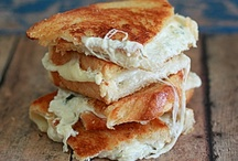 cheesy grilled cheese / by Jessica Howard