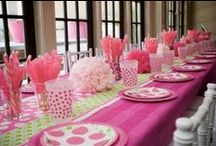 Baby Shower Ideas - Girl / Baby Shower planning is my most favorite thing to do... I love it, and I'm really good at it. I've been planning baby showers all my life. When I found out about Pinterest, thank you Deanie Christy and Rose Davis, naturally Baby Shower Ideas were going to be apart of my inspirational boards. I hope you've enjoyed what I've found!! :) An added plus... My beautiful sister and her wonderful husband plan to get pregnant soon, so I want to be ready!!! / by Lorena Isabel