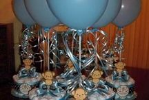Baby Shower Centerpieces / Baby Shower planning is my most favorite thing to do... I love it, and I'm really good at it. I've been planning baby showers all my life. When I found out about Pinterest, naturally Baby Shower Centerpieces were going to be apart of my inspirational boards. I hope you enjoy what I find!! :) / by Lorena Isabel