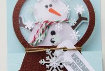 Christmas - Cards, Tags & Gift Holders / -Love Christmas! (Most if not all of these pins are Stampin' Up! / by Lorena Isabel