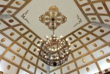 Ceiling Art & Medallion & Moldings / by Pearl Couch