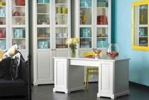 Office ~ Craft ~ Laundry ~ Closets / by Pamela Massey