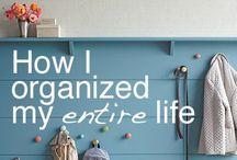 Organization. The sane life.  / by Vanessa Bailey