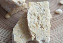 vegan recipes: tempeh / Yummy recipes made of tempeh an Indonesian soy food / by Kathy Hester
