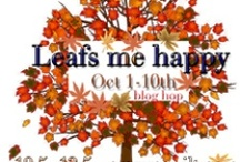 Leafs me Happy begins on October 1st, 2012 / If you love FALL and all its colors, then you will be AWED by the creations of these fabulous quilters... Cherry from Cherry Blossoms and Quilting Studio is our Cheerleader in residence...She is cheering and organizing our fine collection of Quilters who also love FALL! A very big thank you to our sponsor Connecting Threads with 3 fat quarter bundles for 3 winners....HELLO SUNSHINE! / by Mdm Samm ...