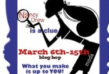 Nancy Drew is a Clue...what you do is up to you! / Nancy Drew blog hop is now here...WE are cheering for our favourite sleuth and she is led by no other than Carol from justletmequilt.blogspot.ca She is all about adventure....take a hop with us and see.~  / by Mdm Samm ...