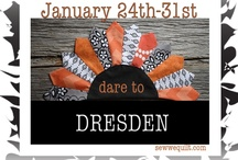 Dare to DRESDEN blog hop!  / Christine will be our resident cheerleader for this blog hop... we are both new to dresdens, so we are being inspired by all of you who are the experts. / by Mdm Samm ...