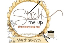 Stitch me up Blog hop  / This is an embroidery hop with 8 pattern designs from 3 designers. / by Mdm Samm ...