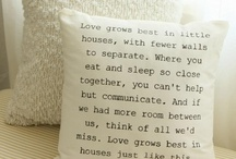 Home Sweet Home / Ideas/Projects for our house / by Becky Freise Solverson