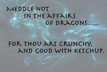 Here there be Dragons / by Virginia Waters