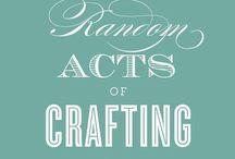 craft closet / by Hannah Elliott