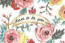 Lovely words / by Kathleen Lapp