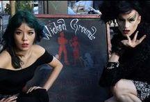 San Francisco - drag queens, Goth underground parties / by La Carmina