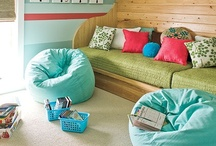 Kid Space ( Bedrooms and Playrooms ) / by Deann Noeding