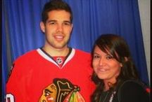 I Met a Blackhawk / Have you met a Blackhawk? Send us your pictures through Facebook and Twitter, and you may see it on this board! / by Chicago Blackhawks