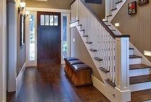 Foyer, Hallway & Stairs / by Debbie Battaglia