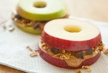 Healthier Snackage / Healthy snack ideas to munch on / by Rae .