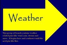 유 Weather Section / by jrachelle