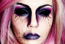 Makeup: Theatrical / artistic makeup/theatrical/halloween ideas / by Rae .