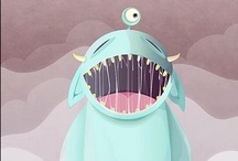 My Boos / I like cute monsters. / by A.D. Sams