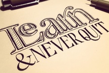 Drawing & Typography / by Jennifer Trump