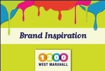 Branding & Design Inspiration / by 1200 West Marshall