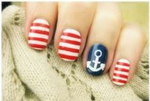 NAILS,MAKEUP, AND HAIR IDEAS / I LOVE THIS KIND OF STUFF !! / by Kathy Wallace