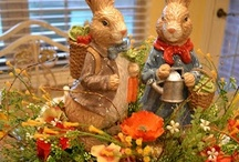 EASTER & IT'S SPRING Decor / by Pin Tabulous