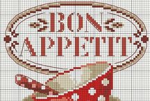 Art&Design | Cross stitch & Embroidery / Cross stitch and embroidery templates / by Amagoia Santin