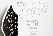 modern wedding | invitations & paper goods / Modern wedding invitations, menu's, escort cards, seating charts...if its related to paper, its here! / by Vané Broussard | Brooklyn Bride