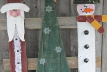 christmas crafts / by Letha Mellman