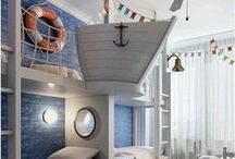Pirate Quarters / Bring the sea into your house with all sorts of nautical-styled decor.  / by Peter and the Starcatcher