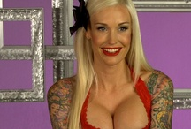 Sabina of Best Ink / Photos of Sabina Kelley, tattoo artist, pin-up model and 'Best Ink' judge on Oxygen. http://best-ink.oxygen.com/ / by Oxygen Media