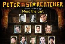 """A """"Stache"""" of the Broadway Cast / We've """"stached"""" members of the Starcatcher cast and arrrgh featuring behind-the-scenes #videos. http://peterandthestarcatcher.com/ / by Peter and the Starcatcher"""