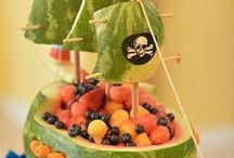 Pirate Party Grub / Pirate and #starcatcher inspired treats! http://peterandthestarcatcher.com/ / by Peter and the Starcatcher