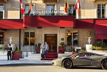 Le Richemond, Geneva / Set on the banks of Lake Geneva, overlooking the famous Jet d'Eau, with the snow-capped Alps in the distance, the historic Le Richemond is one of the most prestigious hotels in Geneva. / by Dorchester Collection