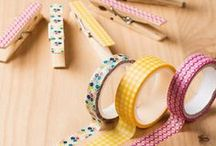 Washi Tape Fun Ideas / Washi Tape a fun product now available from Stampin' Up!  Here are some fun creative ideas to do with it.  / by Stamps to Die For, Patsy Waggoner
