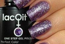 nail polish & cool nails stuff / by LacQit One Step Gel Polish (prounced lacit)