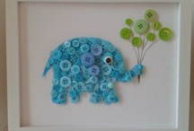 Button crafts / by Lisalyn Lovell
