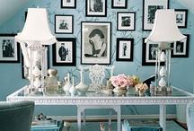 Interiors-Home Office/Studio Space / by Portia Kolpin
